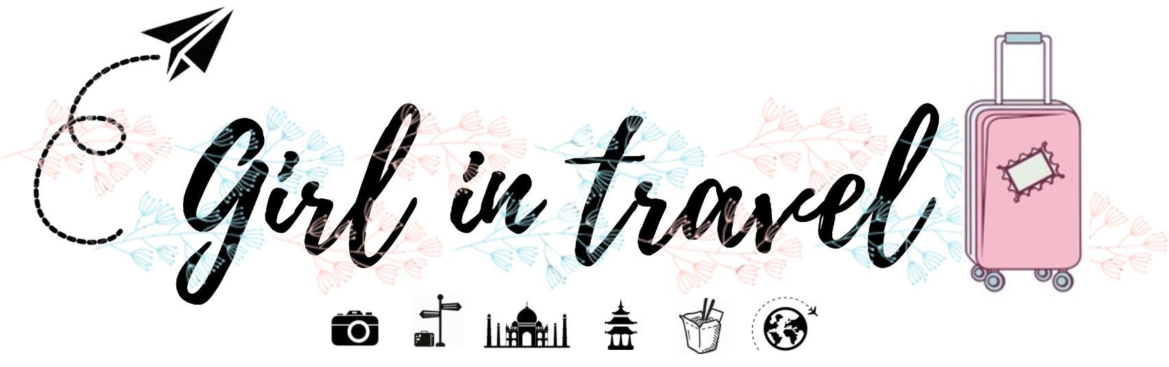 Girl in travel