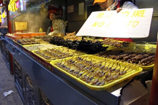 Wangfujing-market